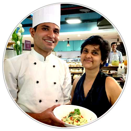Chef Ram and Susmitha