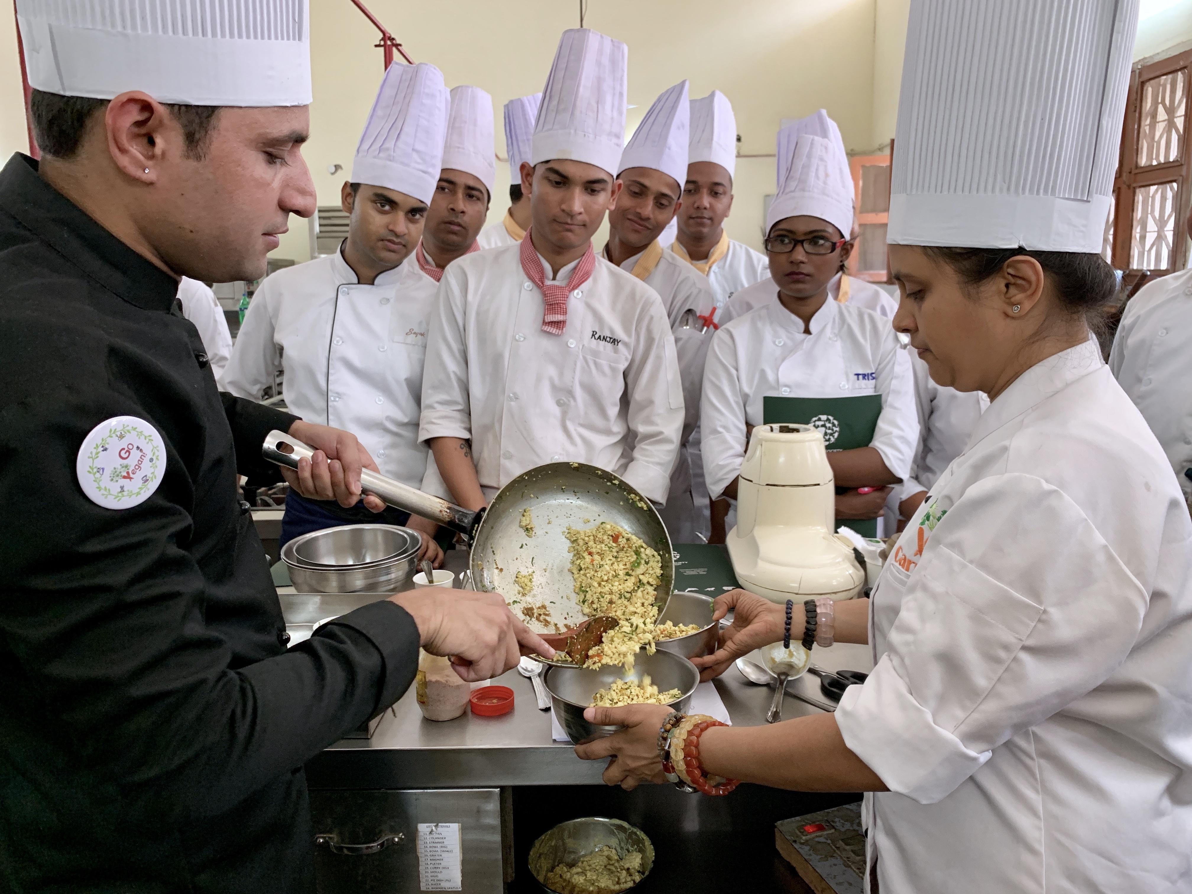 vegan chef training and consultation